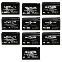 10 PACK NEW AB1270 12V 7AH SLA Battery Replacement for Altronix SMP10PMC12X