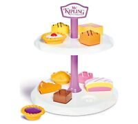 Casdon Little Cook Mr Kipling Cake Stand Double Tier Shape Sorter Toy Playset 3+