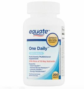 Equate Men's Health, Immune booster, Magnesium. x200 Count UK