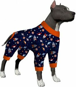 LovinPet Pajamas For Dogs Large/Full Coverage big Dog Pjs /Full Coverage Pjs