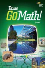 Go Math Texas Grade 8 Student Interactive Worktext 8th Volumes 1 & 2