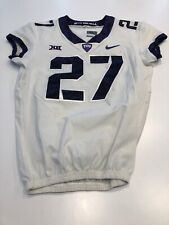Game Worn Used Nike TCU Horned Frogs Football Jersey Size 42 #27