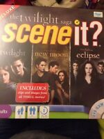 NEW SEALED The Twilight Saga Deluxe Edition Scene It DVD Board game FREE UK POST