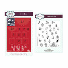 creative expressions advent calendar die & stamp set
