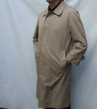 Burberrys BURBERRY beige trench coat NOVA CHECK ZIP WOOL LINING size S / M 38R