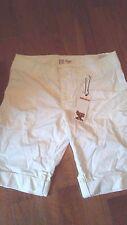 WRANGLER 20X Womens Ladies Bermuda Shorts 9 10 $40 NEW NWT WHITE! HOUSTON RISE!!