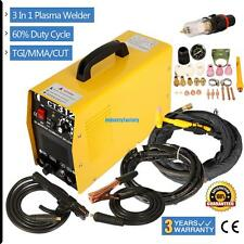 3in1 CT312 Plasma Cutter/TIG/MMA Welder 80% Efficiency IP21 Protection class