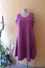 BORIS INDUSTRIES Empire Kleid 48 50 (5 NEU pink MEGA A-Form Baumwolle LAGENLOOK