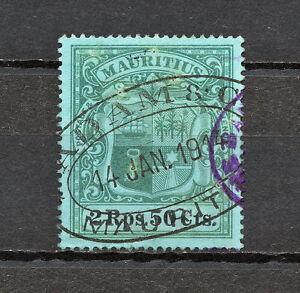 (NNAK 582) MAURITIUS 1902 USED MICH 108