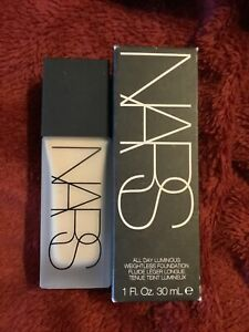 NARS ALL DAY LUMINOUS WEIGHTLESS FOUNDATION Mont Blanc Light 2  30ml New Boxed.