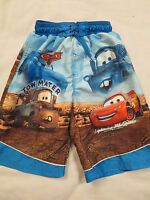 Disney Pixar Cars Swim Trunks Suit Shorts Youth Boys 6/7