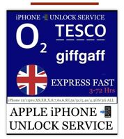 iPhone 11/11pro,XS,XR,X,8,7 to 3G ALL✅02/GiffGaff/tesco uk ✅FAST UNLOCK SERVICE✅
