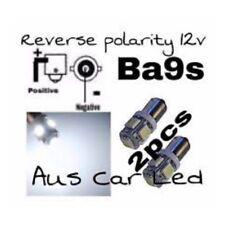 Bright WHITE LED FORD EB ED EF EL AU BA BF Rear Map Lights Reverse Polarity