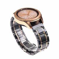 Watch Strap Ceramic Stainless Steel Bracelet Belt Clasp Stylish Fashionable Band