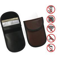 1pcs Fob RFID Signal Blocking Pouch Bag Shield Car Key Anti-theft Faraday Cage