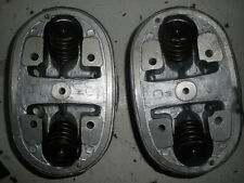 Pair Ural 650 Cylinder Heads Complete