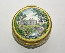 Halcyon Days Enamels Claverton Manor Collectible Box