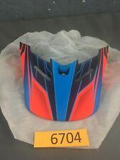 Fox Racing V4  Helmet Visor  Blue Red