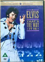 That's The Way It Is DVD 1970 Elvis Presley Rock Concerto Film Classico