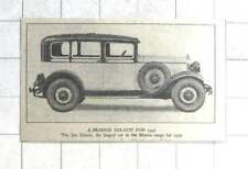 1929 The Isis Saloon, Largest Car In The Morris Range For 1930