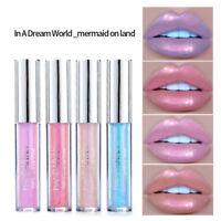 Holographisch Lip Gloss Moisturizing  Schillernd Color Lippe Glaze Makeup