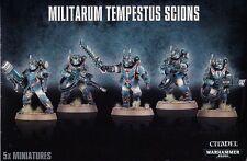 Militarum Tempestus Scions - Warhammer 40k - Sealed in Box - Free Shipping