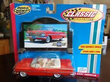 1959 CHEVROLET IMPALA CONVERTIBLE  BILLBOARD 1/43 ROAD CHAMPS CLASSIC COLLECTION