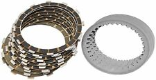 Barnett Clutch Plate Kit Carbon Fibre Friction Steel Fits Harley XR1200 Buell X7