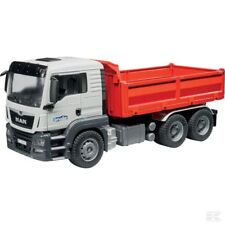 Bruder MAN TGS Construction Truck With Trailer 1:16 Scale Model