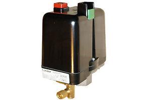 Condor Druckschalter MDR 5/11K Kompressorschalter für Kompressoren Typ MDR 5