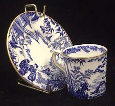 Vintage Collectible Royal Crown Derby Mikado Pattern Porcelain Teacup & Saucer
