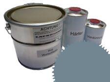 1,5 Set Litre 2K Revêtement de sol RAL 7000 Fehgrau Glanz Peinture Atelier