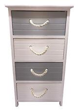 4 tiroirs en bois de Chevet Armoire Table De Rangement Unité Night Stand Home