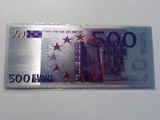 SUPERBE  MAGNETTE  BILLET  500  EUROS  -  NEUF SOUS BLISTER   // A VOIR  !!