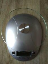 digitale Briefwaage Küchenwaage Feinwaage MILLA von XAVAX m. Glaspl., NEUWERTIG!
