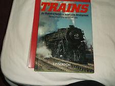 HARDBACK BOOK TRAINS AN ILLUSTRATED HISTORY OF LOCOMOTIVE DEVELOPEMENT SP GORDON