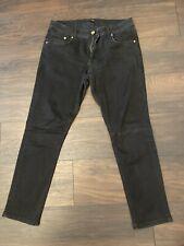 Mens River Island Skinny Black Jeans Size 34