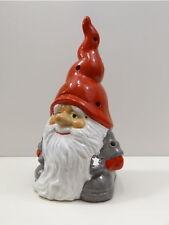 Wichtel Windlicht Deko Figur Weihnachts Skulptur Zwerg Gnom Teelichthalter Troll