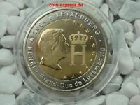 *** 2 Euro Gedenkmünze LUXEMBURG 2004 Henri Großherzog Münze Coin KMS ***