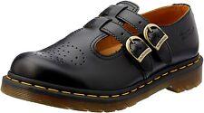 Para mujeres Zapatos Dr. Martens 8065 Cuero Mary Janes 12916001 Negro Liso