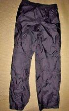 WILDERNESS TECHNOLOGY/ Rain -Wind Pants(Men's Large) BLACK