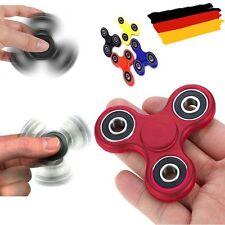 High Speed Fidget Spinner Anti Stress Main Jouet Gestion Du Stress - Rouge