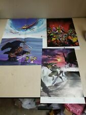Club Nintendo Posters Legend of Zelda * 4 Double Sided Poster Set *