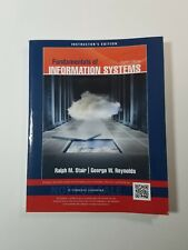 Fundamentals of Information Systems 8th Edition Instructor's Edition Paperback