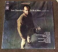 "1966 Len Chandler ""To Be a Man"" LP - Columbia Records (CS-9259) NM-"