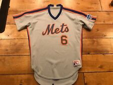 1990'S METS VINTAGE GAME USED WORN JERSEY HYANNIS CAPE COD LEAGUE #6 LOA
