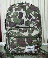 Herschel Supply Co. Pop Quiz Backpack Large Travel School Laptop Bag Camo NWT