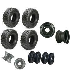 "145/70-6 Go kart Tire Tube 145x70-6 Wheel Rim 6"" Wheels ATV Quad Front Rear"
