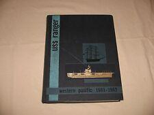 USS Ranger CV 61 1961-1962 Navy Cruise Book