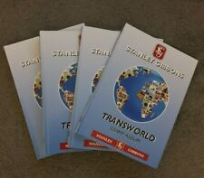 Stanley Gibbons Transworld Stamp Albums x 4 great condition sixth Edition 2004